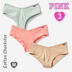 3 PINK VS Cotton Cheekster  M